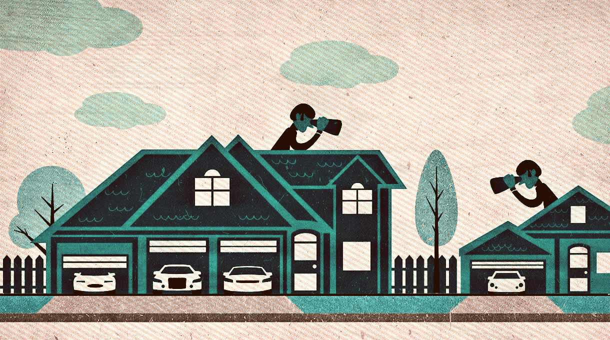 Why You Shouldn't Try To Keep Up With The Joneses